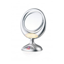 Зеркало Valera с увеличением и подсветкой на батарейках 618.01